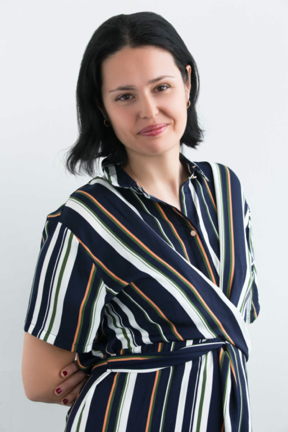 Curator and writer, Nina Mdivani, Image courtesy: Kunstraum LLC