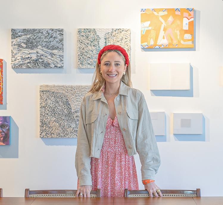 Gabriela Schattan - Founder of Gate, a New York-based portal for Brazilian Art